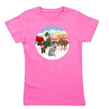 Treat for a Peterbald cat. Girl's Tee