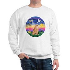 Twilight - Orange tabby Sweatshirt