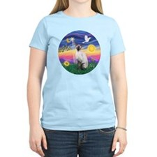 Twilight-Siamese cat (ChocPt T-Shirt