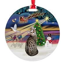 XMagic2-BengalCat1 Ornament