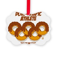 CHOCOLATE DOH!-LYMPIC ATHELETE Ornament
