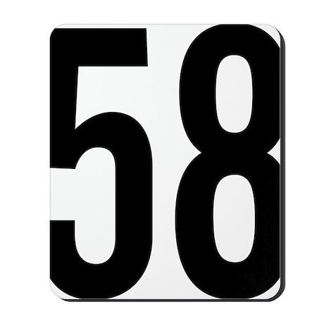 58 Mousepad