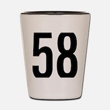 58 Shot Glass