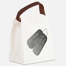 Air Force Spouse hardest job Canvas Lunch Bag