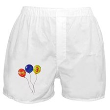 I'm 3! Boxer Shorts