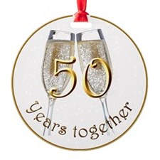 50 Years Together Ornament