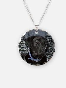 Black Lab Necklace
