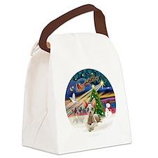 XMagic-Sphynx cat 27 Canvas Lunch Bag