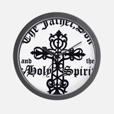 The Father, Son & Holy Spirit  Wall Clock