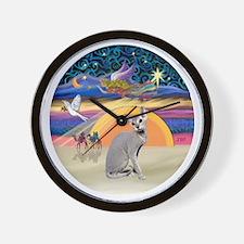 C-Angel-Peterbald cat Wall Clock