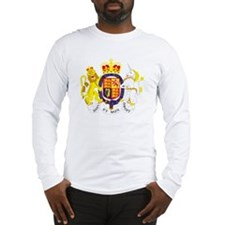 UK Coat of Arms Long Sleeve T-Shirt