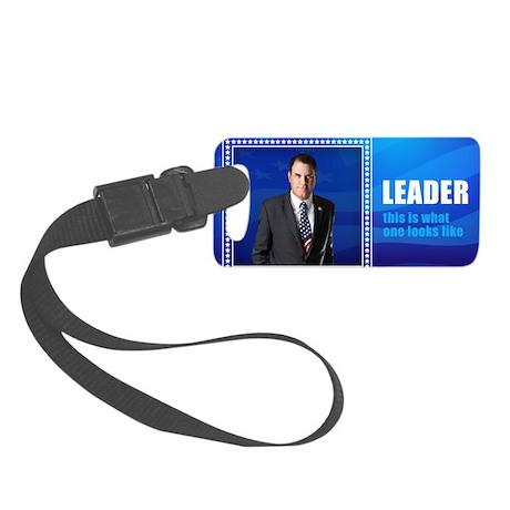 Leader: Alan Grayson Small Luggage Tag