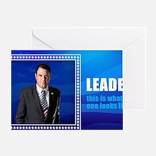 Leader: Alan Grayson Greeting Card