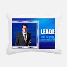 Leader: Alan Grayson Rectangular Canvas Pillow