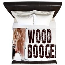 Woodbooger Bigfoot - Gone Squatchin King Duvet