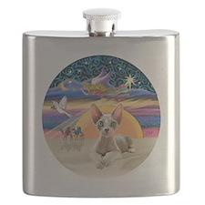 C-Angel - Sphync cat (ld) Flask