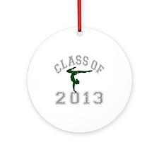 Class Of 2013 Gymnastics Round Ornament