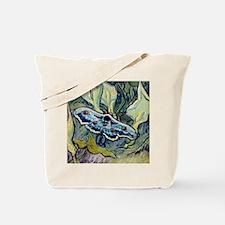 Van Gogh Great Peacock Moth Tote Bag