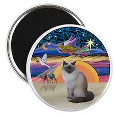 C-Angel-Birman cat Magnet