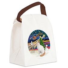 XMagic - Turkish Van cat Canvas Lunch Bag
