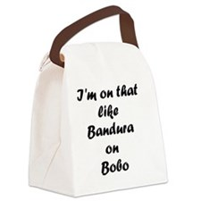 Bandura on Bobo Canvas Lunch Bag