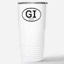 GI - Gibraltar oval Stainless Steel Travel Mug