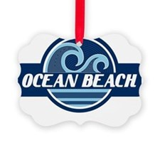 Ocean Beach Surfer Pride Ornament