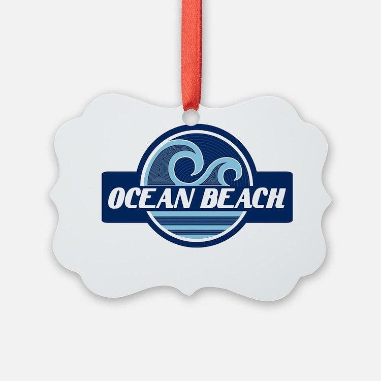 Ocean Beach Surfer Pride Ornament