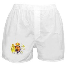 UK Coat of Arms Boxer Shorts