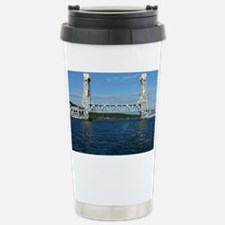 Portage Lake Lift Bridge Travel Mug