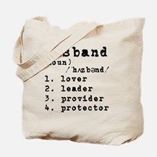 Husband Definition Tote Bag