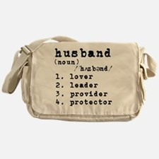 Husband Definition Messenger Bag