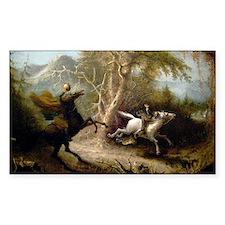 John Quidor Headless Horseman Decal