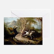 John Quidor Headless Horseman Greeting Card