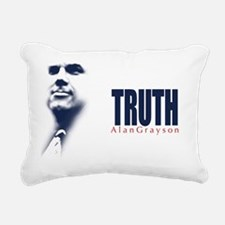 Truth: Alan Grayson Rectangular Canvas Pillow