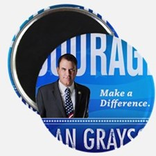 Courage: Alan Grayson Magnet