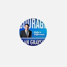 Courage: Alan Grayson Mini Button