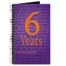 6 Year Recovery Birthday - You are a Mirac Journal