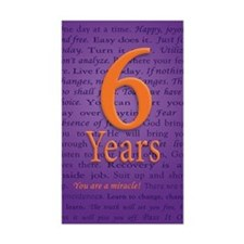6 Year Recovery Birthday - You Decal
