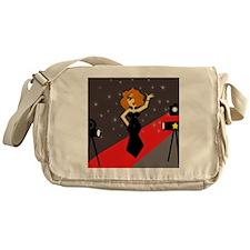 Cute Red Carpet Diva Messenger Bag