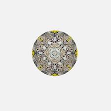 Bobcat Mandala Mini Button