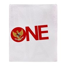 indonesia Throw Blanket