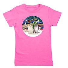 XMagic-Two Ragdoll cats-LynxPt-ColorPt Girl's Tee