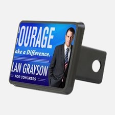 Courage: Alan Grayson Hitch Cover
