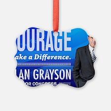 Courage: Alan Grayson Ornament