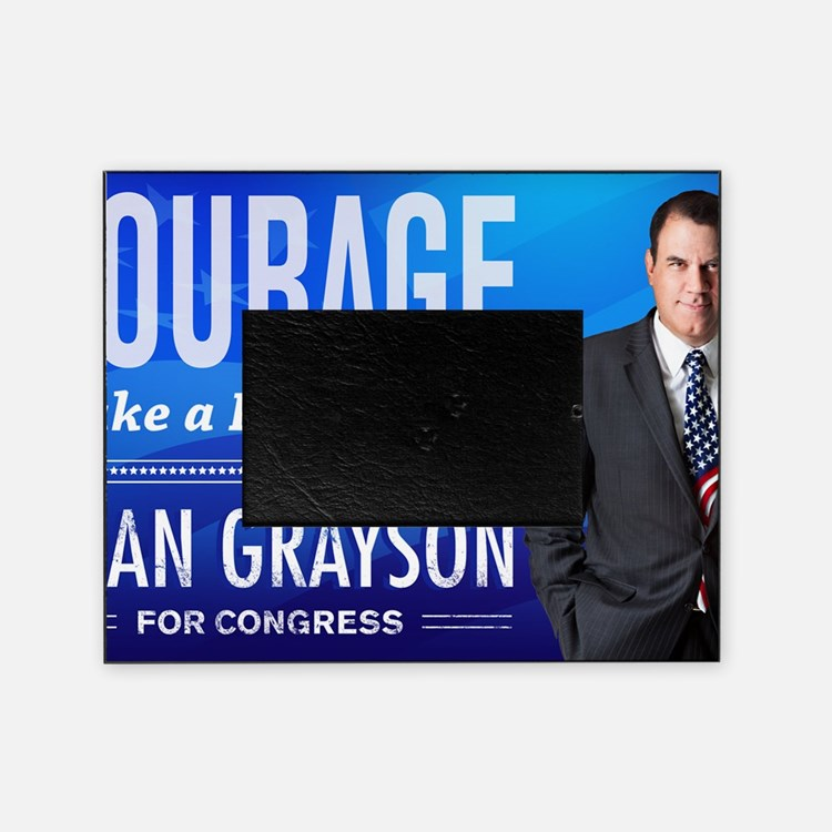 Courage: Alan Grayson Picture Frame