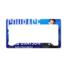 Courage: Alan Grayson License Plate Holder