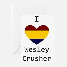 Crusher Love Greeting Card