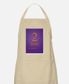 2 Year Recovery Birthday - You are a Miracle Apron