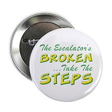 Broken Escalator Use The Steps Button